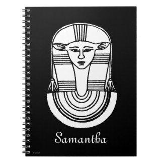 Símbolo egipcio: Hathor Notebook