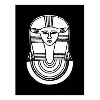 Símbolo egipcio: Hathor Tarjeta Postal