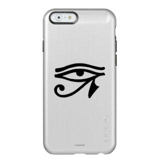 Símbolo egipcio: Wedjat Funda Para iPhone 6 Plus Incipio Feather Shine