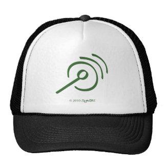 Símbolo egocéntrico verde de SymTell Gorros