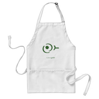 Símbolo egoísta verde de SymTell Delantal