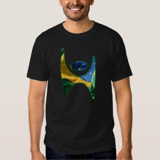Símbolo el Brasil del humanista·Camiseta del Poleras