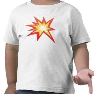 Símbolo Emoji de la colisión Camisetas