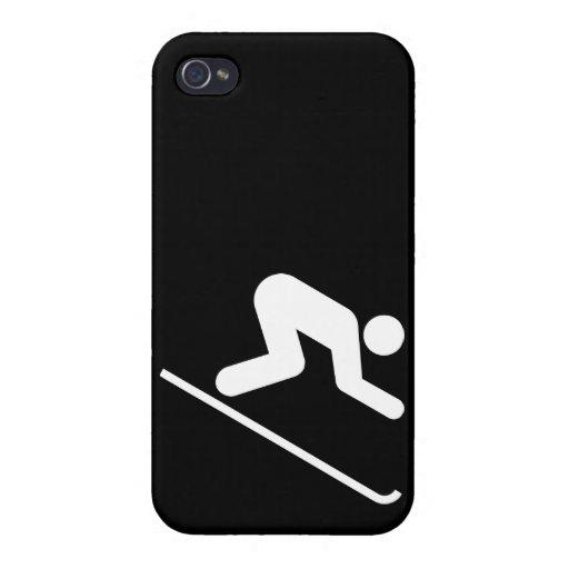 Símbolo en declive iPhone 4/4S carcasas