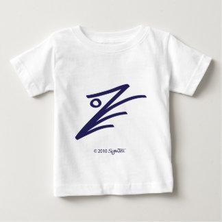 Símbolo enérgico púrpura de SYmTell Playera Para Bebé