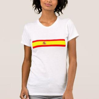 Símbolo español de la nación de la bandera de país playeras