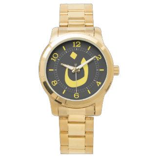 Símbolo espiritual del Nazarene cristiano en dial Relojes De Pulsera