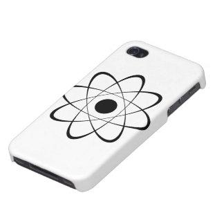 Símbolo estilizado del átomo iPhone 4/4S carcasas