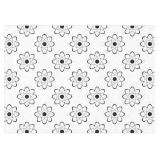 Símbolo estilizado del átomo mantel