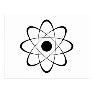 Símbolo estilizado del átomo postal