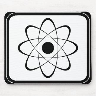 Símbolo estilizado del átomo tapete de ratón