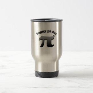 Símbolo feliz del día pi del pi para los empollone taza