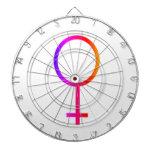 Símbolo femenino del arco iris de Venus