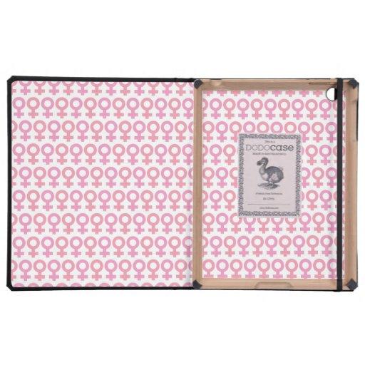 Símbolo femenino iPad carcasa