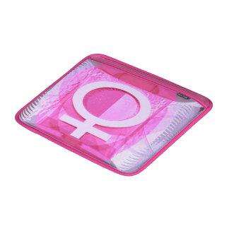 Símbolo femenino - las señoras son de Venus Fundas Para Macbook Air