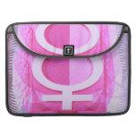 Símbolo femenino - las señoras son de Venus Funda Para Macbook Pro