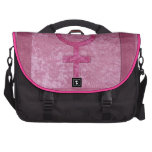 Símbolo femenino rosado bolsas de portátil