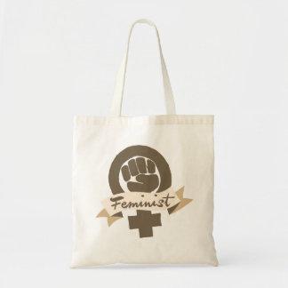 Símbolo feminista bolsa de mano