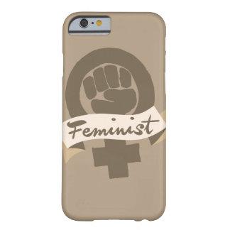 Símbolo feminista funda para iPhone 6 barely there