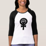 Símbolo feminista playera
