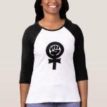 Símbolo feminista playeras