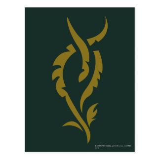 Símbolo floral de TAURIEL™ Postal