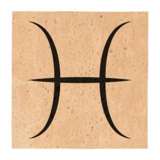símbolo griego del horóscopo del zodiaco de la posavasos