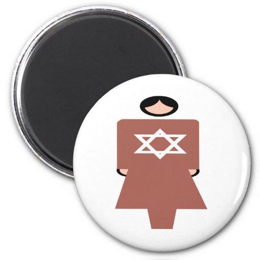 Símbolo hebreo de la mujer imanes
