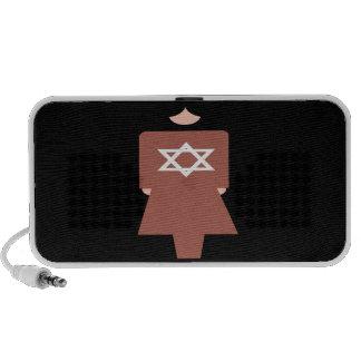 Símbolo hebreo de la mujer mp3 altavoces