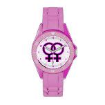 Símbolo homosexual femenino relojes de mano