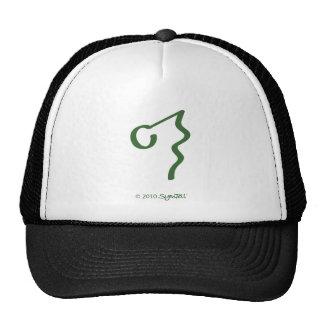 Símbolo ignorante verde de SymTell Gorras