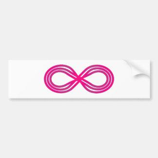 Símbolo infinito infinity pegatina para auto