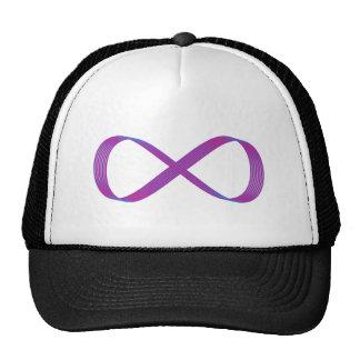 Símbolo infinito infinity gorro de camionero