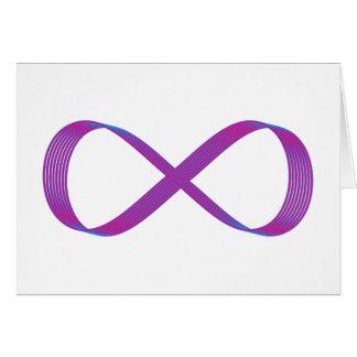 Símbolo infinito infinity felicitaciones
