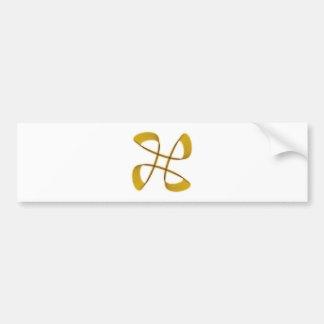 Símbolo infinito infinity x2 pegatina para auto