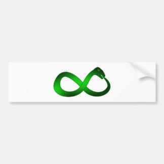 Símbolo infinito Ouroboros infinity Pegatina Para Auto