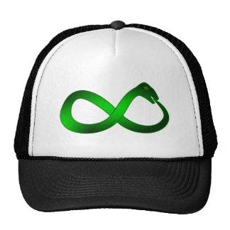 Símbolo infinito Ouroboros infinity Gorras