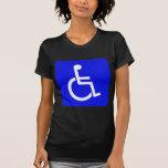 Símbolo internacional de la camiseta del acceso