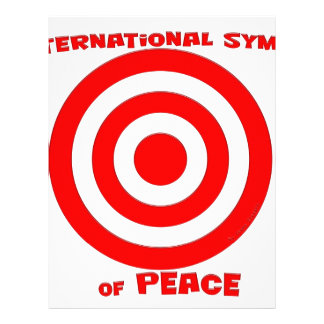 Símbolo internacional de la paz membrete