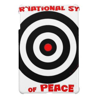Símbolo internacional de la paz - paz en la tierra iPad mini funda