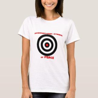 Símbolo internacional de la paz - paz en la tierra playera