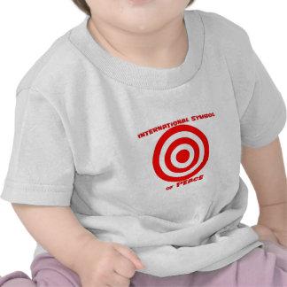 Símbolo internacional de la paz camisetas