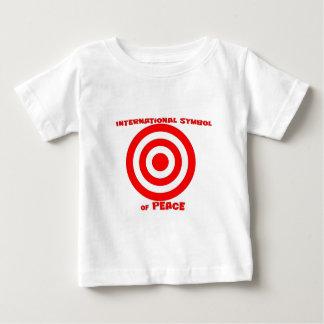 Símbolo internacional de la paz playera de bebé