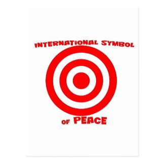 Símbolo internacional de la paz postal