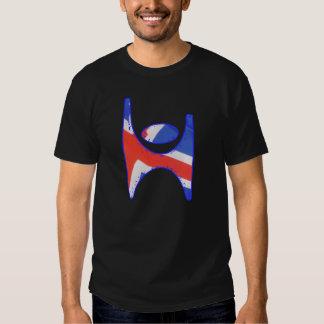 Símbolo Islandia, camiseta del humanista de Ísland Poleras