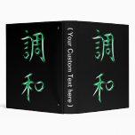 Símbolo japonés de la caligrafía del kanji de la a