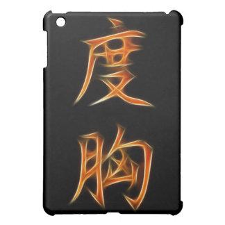 Símbolo japonés del kanji del valor