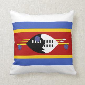 símbolo largo de la nación de la bandera del país cojín