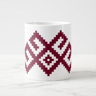 Símbolo letón, lituano nórdico antiguo taza grande