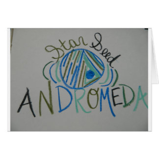 Símbolo ligero de la lengua de Andromedan Starseed Tarjeta De Felicitación